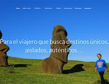 Diseño UX/UI / Sitio web Isla de Pascua