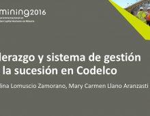 Codelco / Presentación Liderazgo y Sistema de Sucesión en Codelco