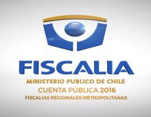 Fiscalia Regional Metropolitana – Cuenta Pública 2016